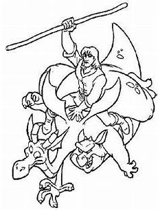 Malvorlagen Drachen Quest Quest For Camelot Coloring Page Coloring Pages
