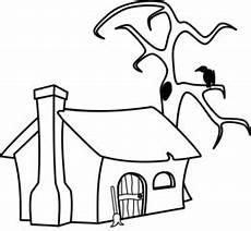ausmalbilder hexenhaus malbild