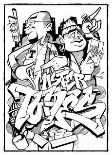 graffiti ausmalbilder coole zeichnungen zum nachmalen