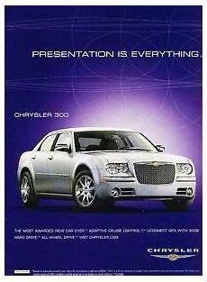 old car manuals online 2009 chrysler 300 free book repair manuals 2009 chrysler 300 original advertisement print car ad j546 ebay