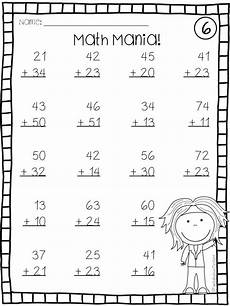addition without regrouping grade 1 addition and subtraction digit math facts without