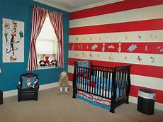 Seuss Bedroom Decor by Just The Blue Wall For Two To Three Walls And Then The