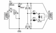 Wireles Usb Schematic Diagram by Diy Usb Circuit