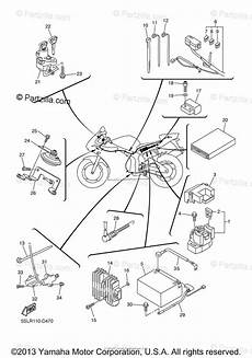 yamaha motorcycle 2005 oem parts diagram for electrical 2 partzilla com