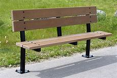 series er benches custom park leisure