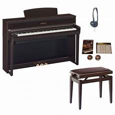 yamaha clp 675 clavinova digital piano rosewood package