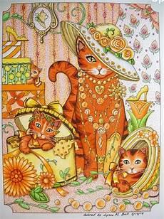 Jugendstil Malvorlagen Lernen Pin Krzeminicki Auf Coloring Cats Katzen