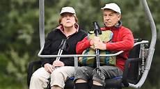 Angela Merkel Mit Ihrem Wander Setzt Sie Ein