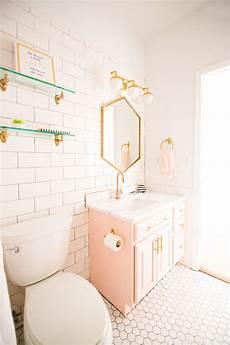 Bathroom Ideas Girly by Modern Glam Blush Bathroom Design Decorate Home