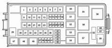 Mercury Milan 2005 2009 Fuse Box Diagram Auto Genius