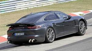 Porsche Panamera Spied With Long Exhaust Tips Could Pack