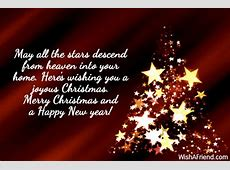 Merry Christmas And Happy New Year Quotation-Merry Christmas Sayings