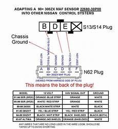 nissan sr20de mass air flow wiring diagram