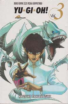 buku yu gi oh premium 03 kazuki takahashi mizanstore