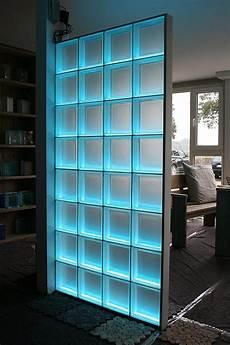 light my wall duschabtrennung aus glasbausteinen mit