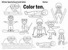 winter sports worksheets 15893 number words worksheets winter sports theme kindergarten math coloring pages winter sports