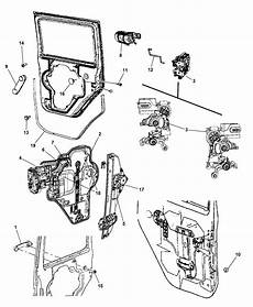 4589022al Genuine Jeep Latch Rear Door