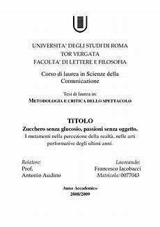 universit罌 degli studi di lettere universita degli studi di roma tor vergata facolta di
