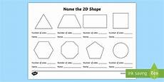 2d shapes worksheets uk 1300 name the 2d shape worksheet naming shapes activity