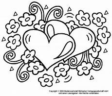 Ausmalbild Blumen Herz Ausmalbilder Herz Kostenlos Malvorlagen Zum Ausdrucken