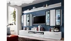 meuble tv blanc vitrine murale led pour salon