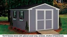 Garage Doors 8 X 10 Price by 10x12 Shed Seneca Value Series Gable Sheds