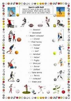 sports balls worksheets 15755 sports with part 2 esl worksheet by cleo2011