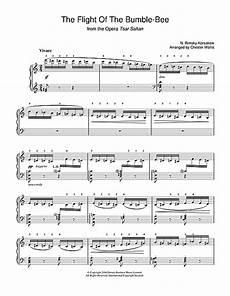 music sheet flight of the bumblebee clarinet sheet music