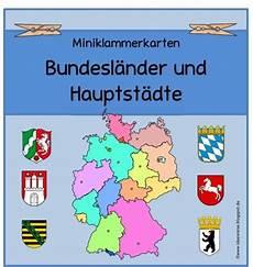 Malvorlagen Vorschule Deutschland Ideenreise Miniklammerkarten Quot Bundesl 228 Nder Hauptst 228 Dte