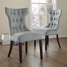dorel living clairborne gray microfiber tufted dining