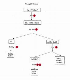 Group 1 Cations Flow Chart Qualitative Analysis Of Group 1 Cations Lab Answers