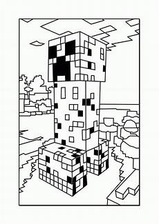 Minecraft Malvorlagen Pc Printable Minecraft Coloring Pages Coloring Home