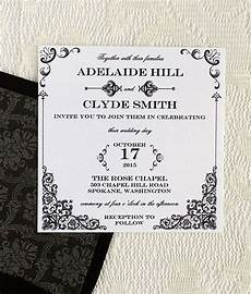 diy vintage iron and lace square wedding invitation template square wedding invitations