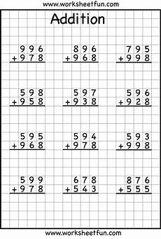 4th grade math subtraction regrouping worksheet addition regrouping 3rd grade math math worksheets