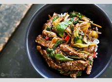 ginger beef stir fry_image