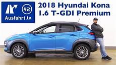 hyundai kona zubehör 2018 hyundai kona 1 6 t gdi premium 4wd kaufberatung