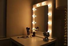 vanity mirror with lights around it in lighting home improvement ideas diy vanity mirror