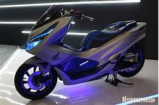 Honda Pcx Modifikasi by Modifikasi Honda Pcx Futuristic Techno Besutan Zone