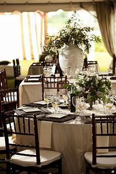 elegant brown white green tented wedding reception elizabeth designs the wedding blog