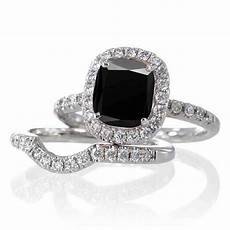 womens black diamond wedding rings black diamond wedding ring sets for wedding and