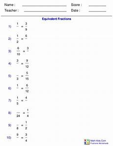 probability worksheets math aids 5707 equivalent fraction problems