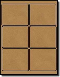 600 brown kraft laser inkjet labels 4 3 1 3 6 labels per sheet 100 sheets use avery 174 5164