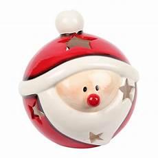 Kugel Weihnachtsmann Windlicht Keramik 19 Cm 19 90 Eur