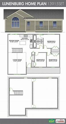 open concept bungalow house plans canada lunenburg 3 bedroom 2 1 2 bathroom home plan features