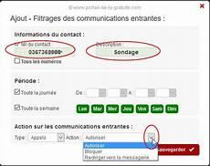 Free Mobile Comment Bloquer Un Num 233 Ro Ou Rejeter Les