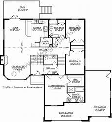 bi level house plans with garage modified bi level with with a garage 2009451 by