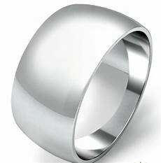 925 sterling silver womens mens 12mm d shape wedding band