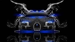Bugatti Veyron Front Water Car 2014  El Tony