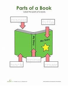 book and print concepts preschool worksheets education com