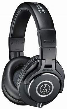 audio technica ath m40x headphones review the wire realm